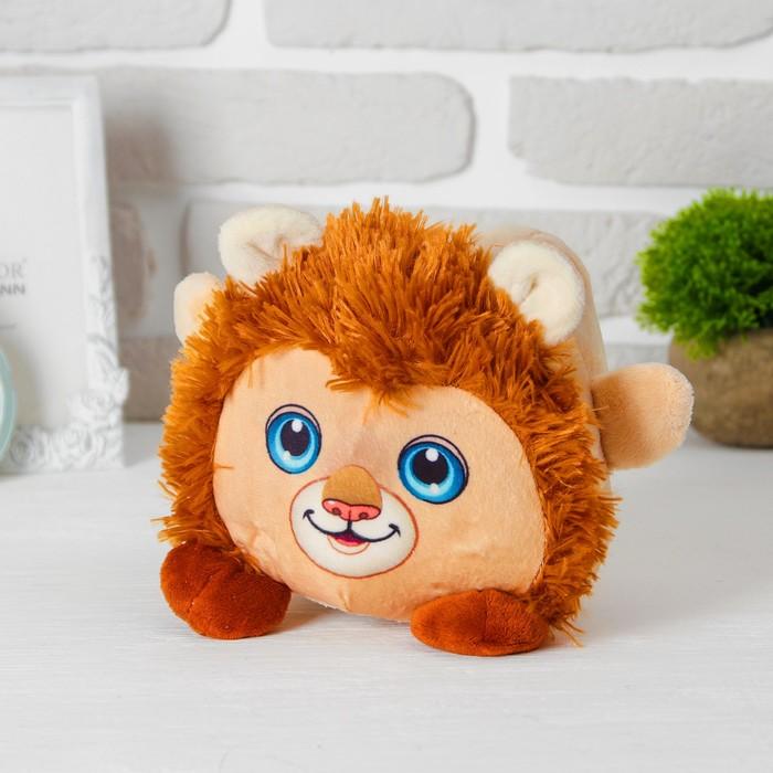 Игрушка-копилка «Лев», звуковая, с подсветкой