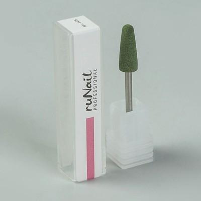 Фреза силиконовая для маникюра, средняя зернистость, 6 × 16 мм