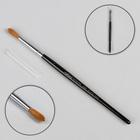 Кисть для дизайна ногтей круглая, из натурального волокна, № 6