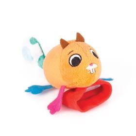 Игрушка-Погремушка на ручку «Бельчонок Хрумим»
