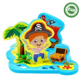 Набор игрушек для ванны «Приключения пирата» Ош