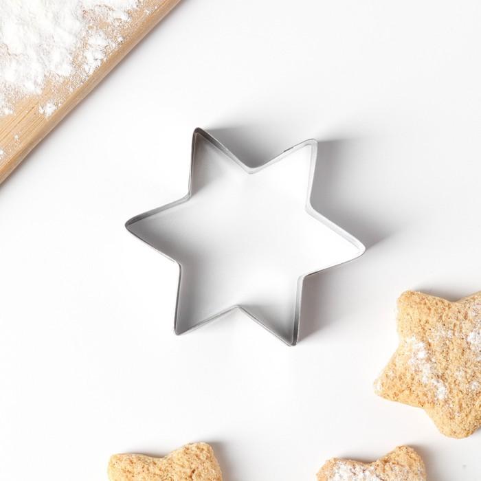 Форма для вырезания печенья Звезда, 662 см
