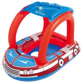 Круг для плавания «Пожарная машина», с сиденьем и тентом, 81 х 58 см, от 1-2 лет, 34093 Bestway Ош