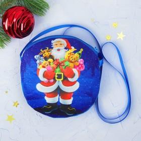 Мягкая сумочка «Новогодние подарки» Ош