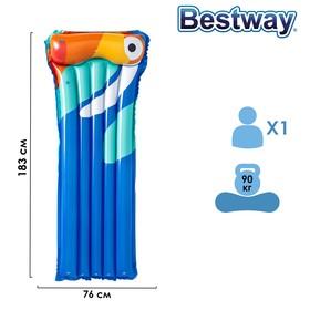 Матрас для плавания, 183 х 76 см, цвета МИКС, 44021 Bestway Ош