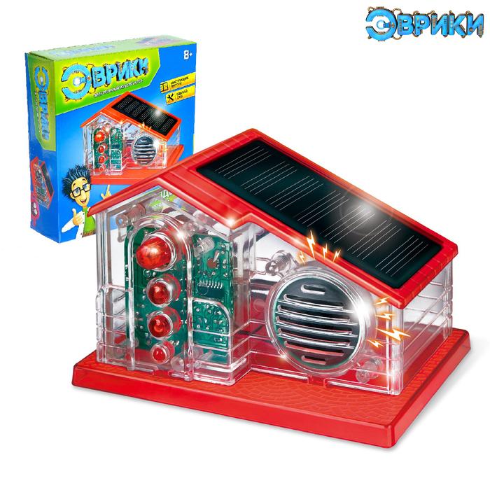 Электронный конструктор «Радиодом», работает от солнечной батареи