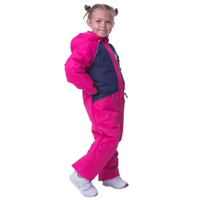Комбинезон детский, рост 104 см, цвет розовый