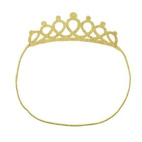 Корона «Красотка», на резинке, цвета МИКС Ош