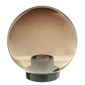 Светильник уличный ITALMAC Palla 20 01 32, шар, d=200мм, IP44,основание,патрон Е27, дымчатый