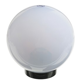 Светильник уличный ITALMAC Palla 20 01 31, шар, d=200мм, IP44, основание, патрон Е27, белый