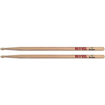 Барабанные палочки VIC FIRTH N7A - 7A с деревянным наконечником, орех - Фото 1