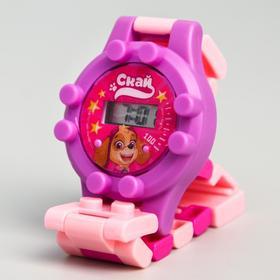 Щенячий патруль. Часы наручные лего 'Скай', с ремешком-конструктором, PAW PATROL Ош