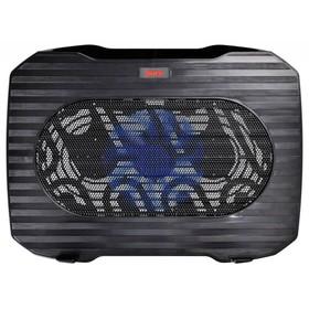 Подставка для ноутбука Buro BU-LCP156-B114 15.6' 1xUSB 1x 140ммFAN черная Ош