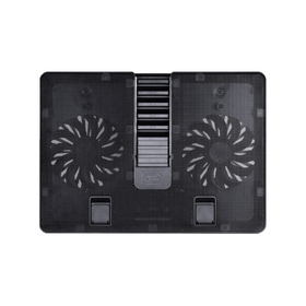 Подставка для ноутбука Deepcool U PAL (U-PAL) 15.6' 26.3дБ 1xUSB 2x 140ммFAN ABS черная Ош