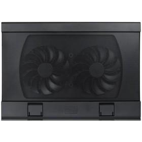 Подставка для ноутбука Deepcool WIND PAL FS (WINDPALFS) 17' 26.5дБ 2xUSB 2x 140ммFAN черная Ош