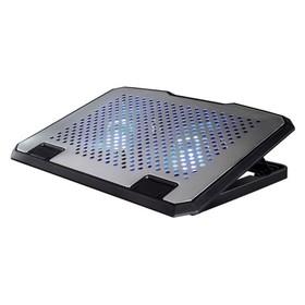 """Подставка для ноутбука Hama H-53064 (00053064) 15.6"""" 23дБ 2x 140ммFAN серебристая"""