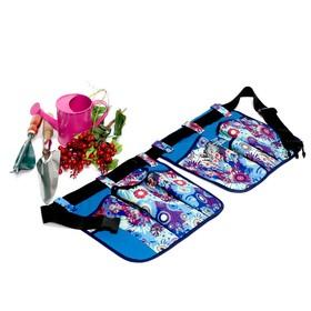 Поясная сумка для работы в саду, 6 карманов Ош