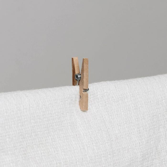 Набор прищепок деревянных Доляна, 2,5 см, 25 шт