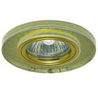 Светильник встраиваемый IL.0026.5671, GU5.3, 35 Вт, цвет золото, d=60мм