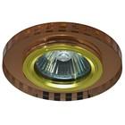 Светильник встраиваемый IL.0018.5171, GU5.3, 50 Вт, цвет золото, d=60мм