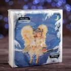 Новогодние салфетки бумажные Classic Рождествениский ангел, 1 слой, 33*33 см, 50 листов