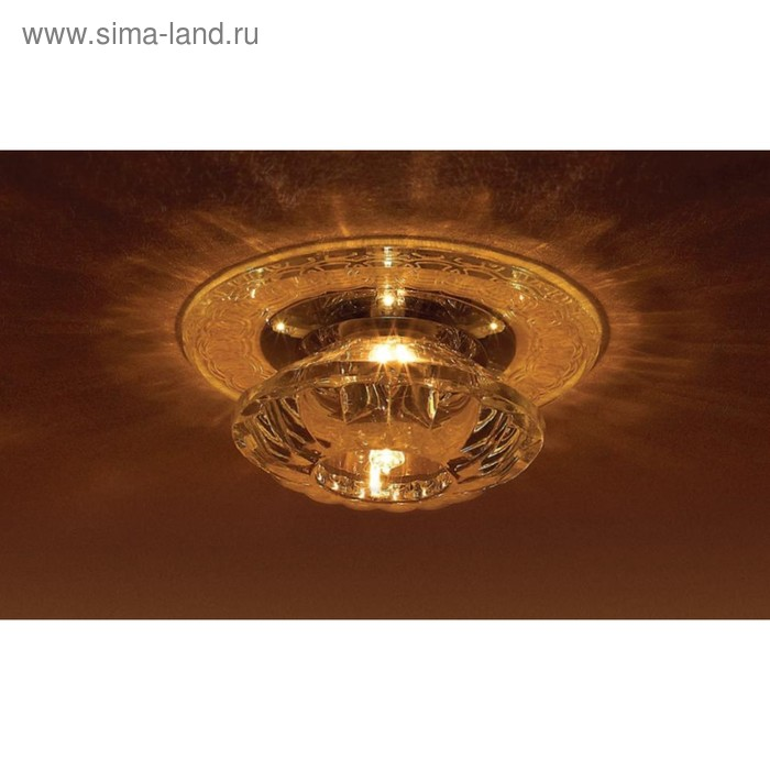 Светильник встраиваемый IL.0018.8003, G9, 40 Вт, цвет хром, d=60мм