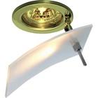 Светильник встраиваемый IL.0009.0253, GU5.3, 50 Вт, цвет медь, d=60мм