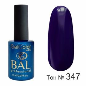 Гель-лак каучуковый BAL GelColor №347, 11 мл