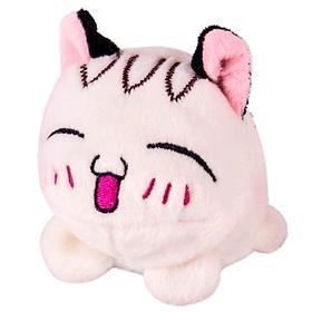 Мягкая игрушка «Мячик-кот», белый, 7см Ош