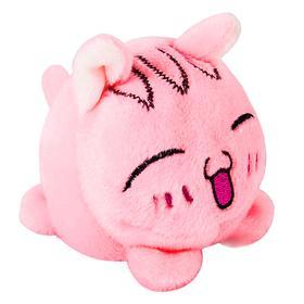 Мягкая игрушка «Мячик-кот», розовый, 7см Ош