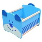 """Ящик для хранения """"Медведь"""", синий"""