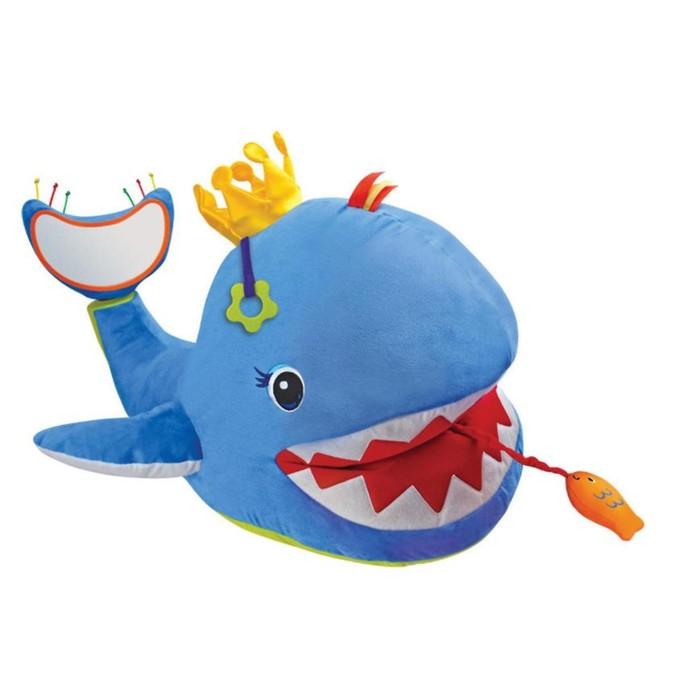 """Мягкая игрушка """"Большой музыкальный кит"""""""