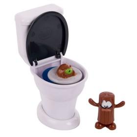 Игровой набор Poopeez «Туалет-лончер», с 2 фигурками и пусковым механизмом