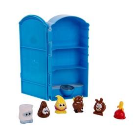Игровой набор Poopeez «Туалетная кабинка», с 6 фигурками, 1 серия