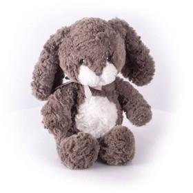 Мягкая игрушка «Заяц Мил», тёмный, 23 см