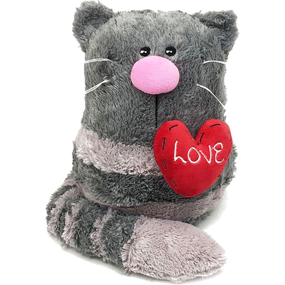 Мягкая игрушка «Кото-фей с сердцем», 23 см - Фото 1