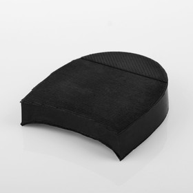 Каблук «ЯР», резина, размер 25, чёрный Ош
