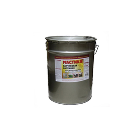 Мастика битумно-каучуковая 20л Ош
