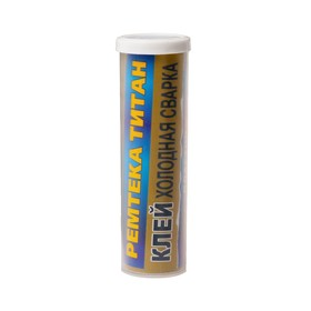Холодная сварка Ремтека Титан РМ 0105, для пластика, кислотостойкая, 62 гр Ош