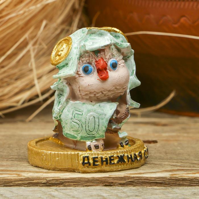 Фигурка сувенир Денежная сова