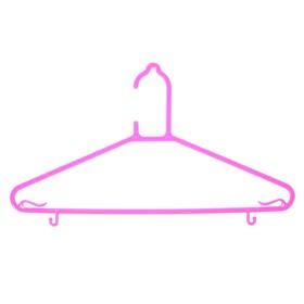 Вешалка-плечики для одежды, размер 46-48 цвет МИКС Ош