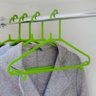 Вешалка-плечики 42×23.5×0.4 см, цвет МИКС