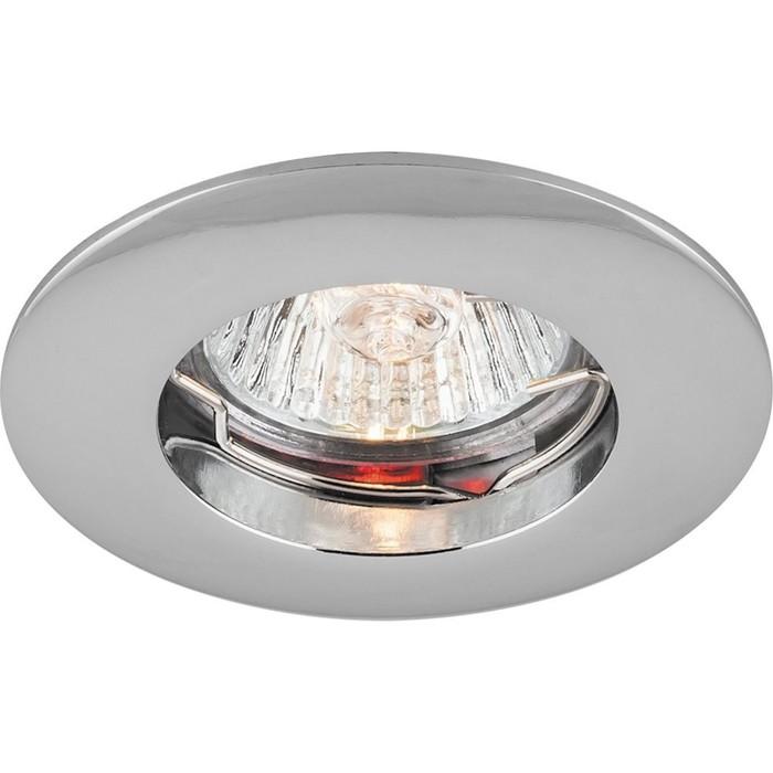 Встраиваемый светильник DL110A, MR11, 35W, цвет хром, d=40мм
