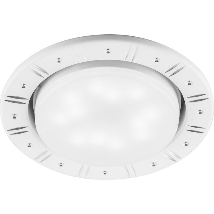 Встраиваемый светильник DL393, 11W, GX53, цвет белый, d=мм