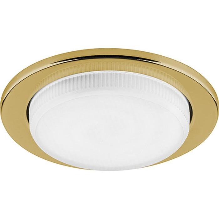 Встраиваемый светильник DL53, 11W, GX53, цвет золото, d=81мм
