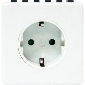 Розетка с таймером недельная TM21, 3500W, 16A, 230V, цвет белый