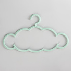 Вешалка-плечики для одежды Доляна «Облако», размер 46-48, цвет МИКС