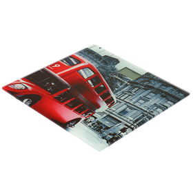 Весы напольные HOMESTAR HS-6001F, электронные, до 180 кг, картинка 'Лондон' Ош
