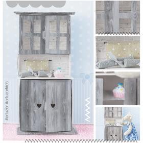 Мебель для кукол–малюток «Кухонный буфет», набор для шитья, 15 × 23,2 × 2,2 см Ош