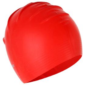 Шапочка латексная SOLID SOFT, M0565 02 0 05W, красный Ош